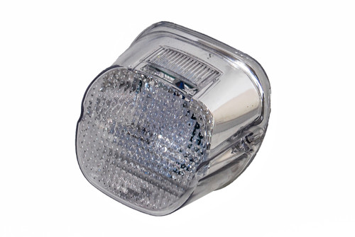 Clear Lens Tail Brake LED Light Harley Davidson Motorcycle Stop Lamp