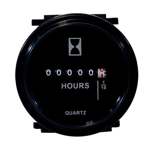 Round Hour Meter Gauge John Deere Tractor 420 170 6210 Loader 110 5410 3038 4500