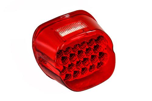 FL Red LED Tail Brake Light Harley Touring Electra FLTR Road King Glide FLHTCU I