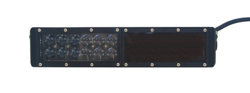HO Amber Flood Lens OZ-USA® for HO Series Double Row LED Lightbars.