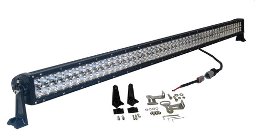 3D 300w 52 inch OZ-USA® Light bar  spot flood combo LED off road 4x4 4wd race truck JK JKU