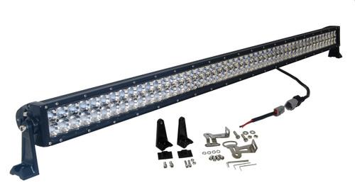 3D 300w 52 inch OZ-USA® Light bar  spot flood combo LED off road 4x4 4wd race truck JK JKU