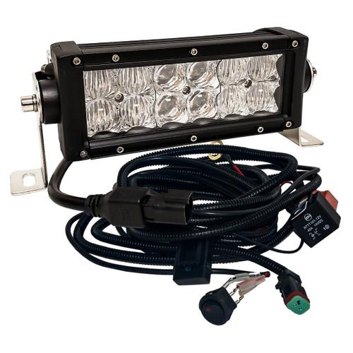 """8"""" 4D-Series OZ-USA®  36w LED Lightbar Combo Spot/Flood Beam Off-road 4x4 Truck ATV UTV 12V-24V"""