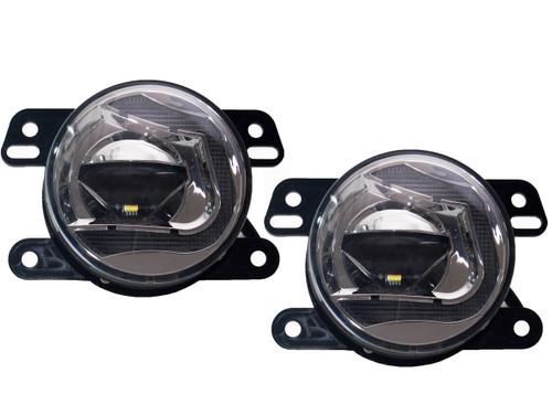 JK Fog LED Lights OZ-USA® for 2007-2015 Jeep Wrangler JK 2 door and JKU 4 door models