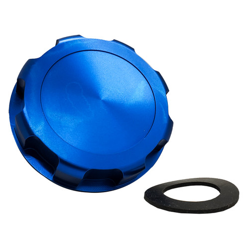 JS Billet Gas Cap Blue OZ-USA® with Rubber Gasket for Kawasaki Jet 650SX SX TS XI 650 750