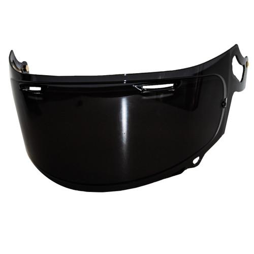 Smoke RX-7x aftermarket helmet visor fits Arai Shield RX-7x, RX-7V, Corsair-X