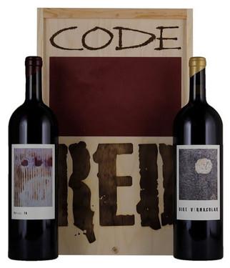 2016 Sine Qua Non Code Red 1.5L Box Set (Syrah/Grenache)