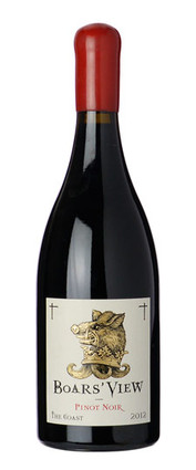 2012 Boars View The Coast Pinot Noir