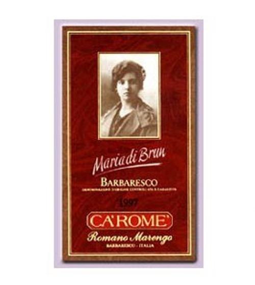 2012 Ca'Rome Maria di Brum Romano Marengo Barbaresco Nebbiolo