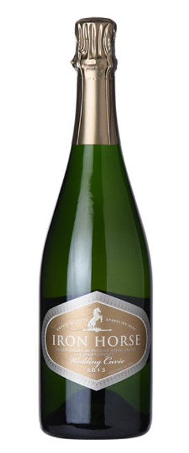 2014 Iron Horse Wedding Cuvee Sparkling