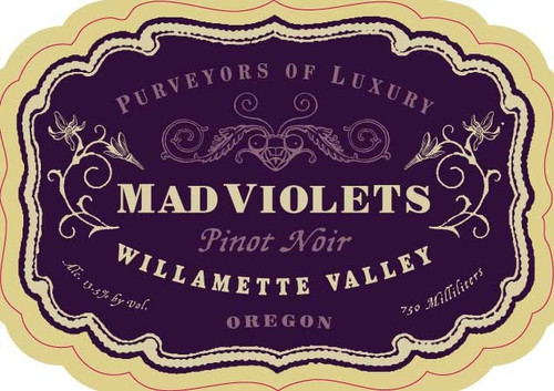 2015 Mad Violets Willamette Valley Pinot Noir