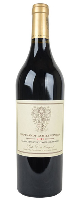 2011 Kapcsandy Grand Vin State Lane Vineyard Cab Sauv