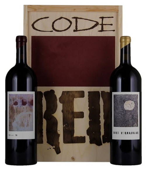 2016 Sine Qua Non Code Red 1.5L Box Set (Syrah/Grenache)
