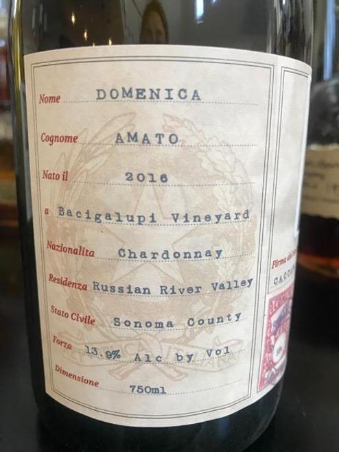 2016 Domenica Amato Bacigalupi Chardonnay