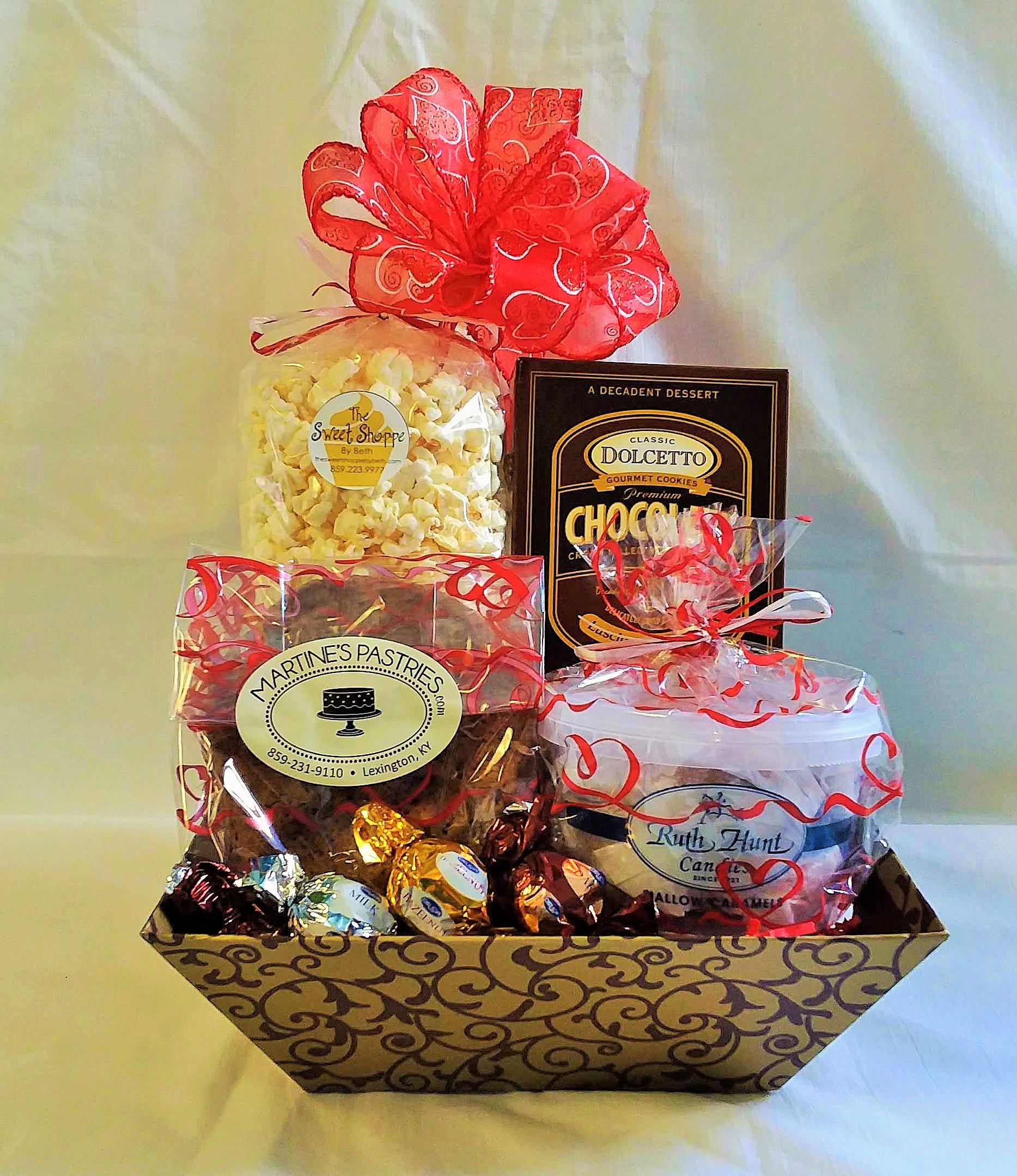 Christmas Gift Basket Ideas For Kids.Elegantly Handled Gift Baskets
