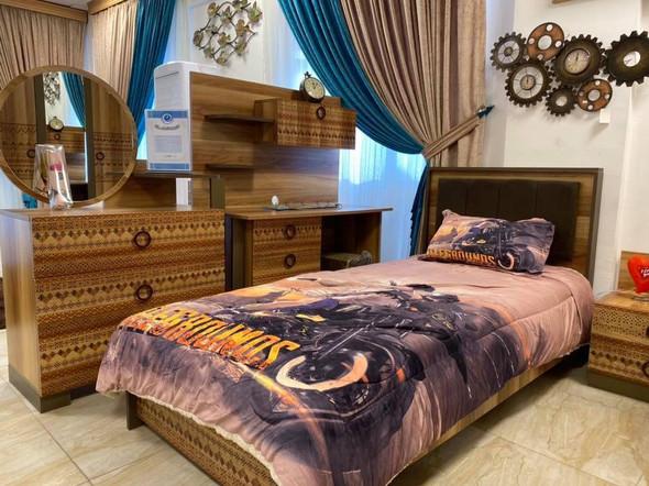 غرفة نوم شبابي ريترو جوزي