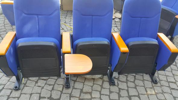 كرسي مسرح ثلاثي مع يدات كتابة مخفية 6603