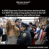 Don't Rely on the Police to Save You – Protect Yourself!