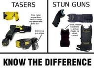 Stun Guns vs. TASERs – Important Differences