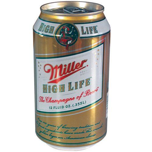 Miller High Life Beer Can Hidden Diversion Safe