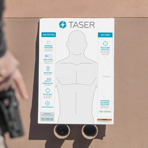 TASER Self Defense Practice Target