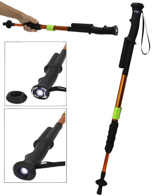 ZAP Hike n' Strike Stun Gun Hiking Staff