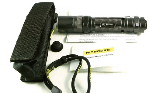 Nitecore SRT5 Detective CREE XM-L2 750 Lumen Flashlight accessories