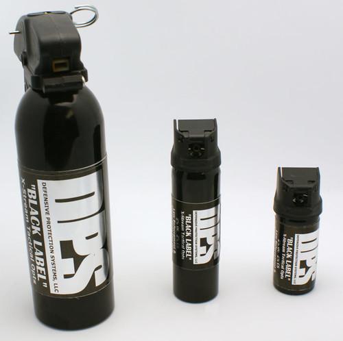 DPS Black Label Pepper Spray - OC/CS Combo