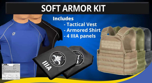 Level IIIA Soft Armor Kit