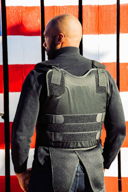 Level IIIA Concealable Vest Back-View