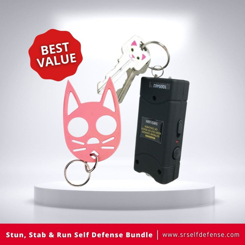 Stun, Stab & Run Self Defense Bundle Best Value