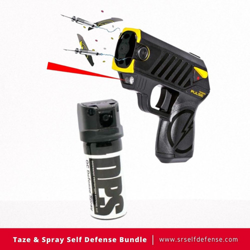 Taze & Spray Self Defense Bundle