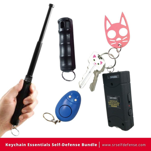 Keychain Essentials Self Defense Bundle