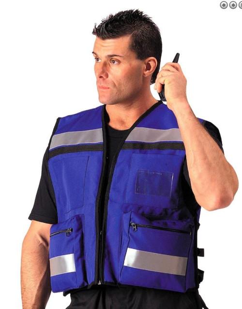 Level IIIA EMS Rescue Vest Upfront