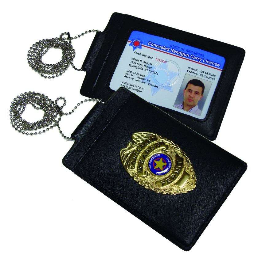 Concealed Carry ID Badges