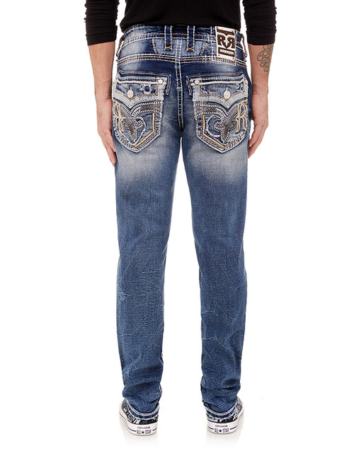 DAWN BLUE A201 ALT STRAIGHT JEAN