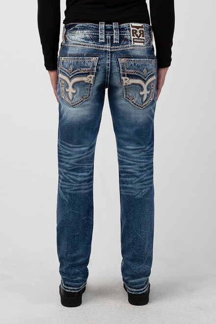 COPEN BLUE J202 STRAIGHT CUT JEAN