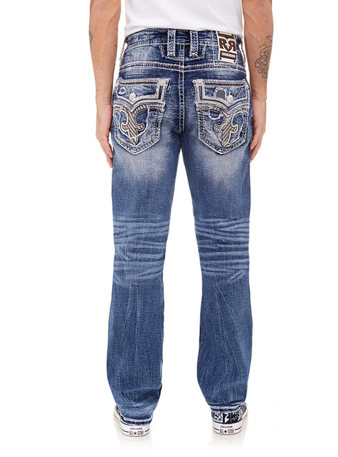 LYONS BLUE J201 STRAIGHT CUT JEAN