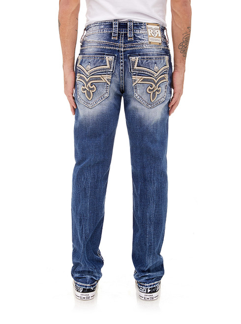 WHITE SAND J201 STRAIGHT CUT JEAN