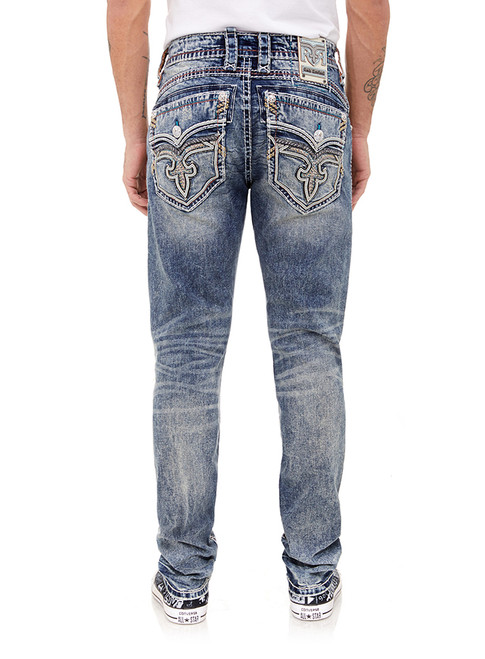 Rock Revival Hern A204 Alt Straight Cut Jeans
