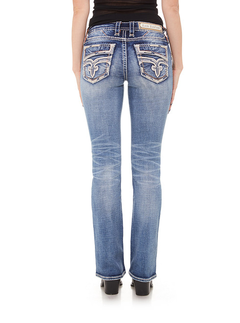 PEACH BUD B202 BOOT CUT JEAN