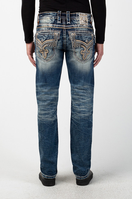 TILE BLUE J202 STRAIGHT CUT JEAN