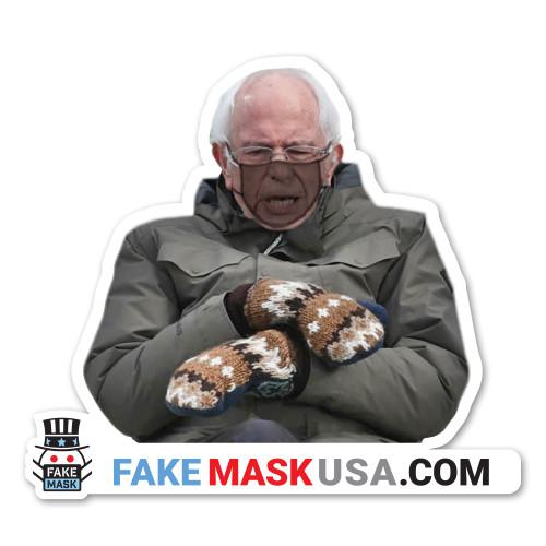Bernie Mittens Decal