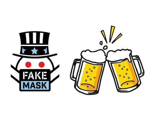 Buy the Fake Mask Team a BEER (we actually spend this on beers lol)