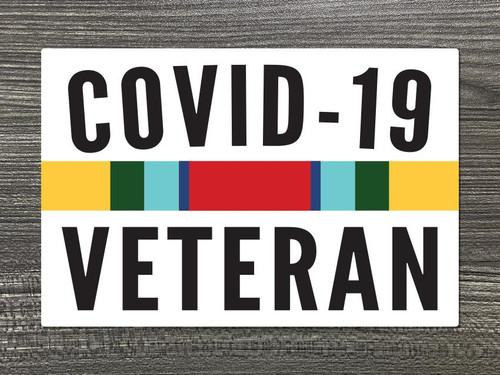 COVID-19 Veteran Decal