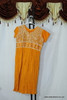 Orange Cotton Churidar Suit