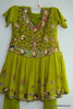 Green Heavy work Salwar Suit for Girls Size 28