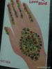 Indian Mehandi Tatoo Henna temporary removable Sticker Mehandi_Tattoo_10024
