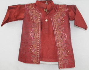 1000 Red Kurta set