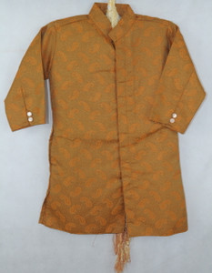 1014 Brown Designer Kurta set